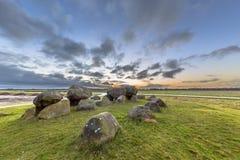 Hunnic monolithische Dolmen Stock Foto