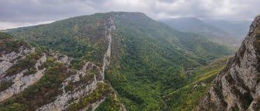 Hunot峡谷状态储备 Shoushi市,纳格尔诺-卡扎巴赫repub 免版税库存图片