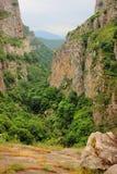 Hunot canyon Royalty Free Stock Photo
