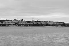 Hunstanton海滩,诺福克,英国 库存图片