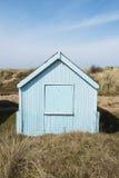 Hunstanton Beach Hut. Colorful Beach Hut at Old Hunstanton, Norfolk, UK Stock Photos
