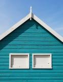Hunstanton Beach Hut. Colorful Beach Hut at Old Hunstanton, Norfolk, UK Stock Photography