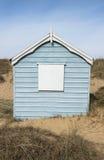 Hunstanton Beach Hut. Colorful Beach Hut at Old Hunstanton, Norfolk, UK Royalty Free Stock Photos