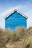 Hunstanton Beach Hut. Colorful Beach Hut at Old Hunstanton, Norfolk, UK Royalty Free Stock Photography