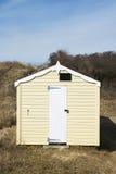 Hunstanton Beach Hut. Beach Hut at Old Hunstanton, Norfolk, UK Royalty Free Stock Photos