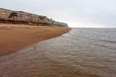 Hunstanton cliff North Norfolk England Royalty Free Stock Photo