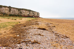 Hunstanton cliff North Norfolk England Stock Photos