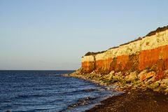 Sea and  cliffs Stock Images