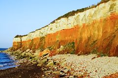 Hunstanton cliffs Royalty Free Stock Images