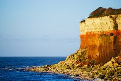 Sea and cliffs. Royalty Free Stock Photo