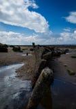 Hunstanton ship wreck Stock Photo