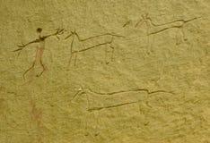 hunt буйвола Стоковое фото RF