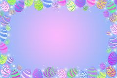 hunt пасхального яйца иллюстрация штока