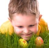 hunt пасхального яйца стоковые изображения