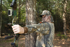 hunt huntera Obrazy Royalty Free