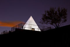 Hunt's Tomb Pyramid in Tempe Arizona Royalty Free Stock Photos