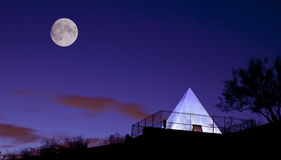 Hunt's Tomb Pyramid in Tempe Arizona Stock Photo