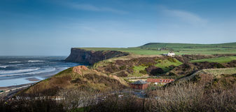 Huntcliff - Saltburn by the Sea - North East Coast - UK Royalty Free Stock Images