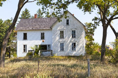 Hunted House. In american countryside stock photos