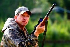 Hunter royalty free stock photography