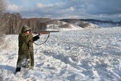 The hunter Stock Photo