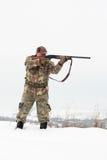 Hunter aiming Stock Photos
