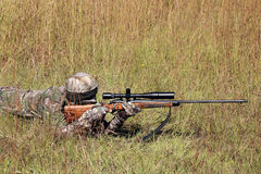 Hunter In Camo Stock Images