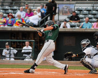 Hunter Cole, Augusta Greenjackets. Royalty Free Stock Image