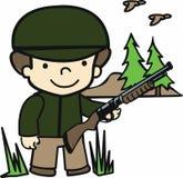 Hunter Gun Stockbilder