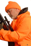 Hunter and gun safety Royalty Free Stock Photos