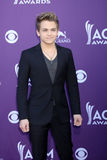 Hunter Hayes. LAS VEGAS - APR 1:  Hunter Hayes arrives at the 2012 Academy of Country Music Awards at MGM Grand Garden Arena on April 1, 2010 in Las Vegas, NV Royalty Free Stock Images