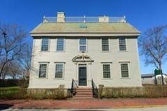 Hunter House, Île de Rhode, Etats-Unis Images stock