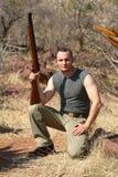 Hunter hunting Royalty Free Stock Image