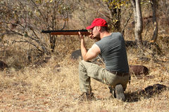 Hunter hunting royalty free stock photos