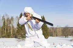 Hunter hunting Stock Photography