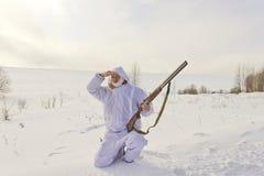 Hunter hunting Royalty Free Stock Photo