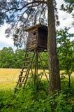 Hunter hut Royalty Free Stock Photography