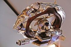 The Hunter Killer Mini from the Terminator 3D Stock Photography