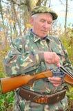 Hunter load rifle Royalty Free Stock Photo