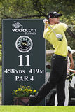 Hunter Mahan - 11th Tee - NGC2009 Royalty Free Stock Photo