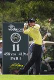 Hunter Mahan - 11th Tee - NGC2009 Royalty Free Stock Image