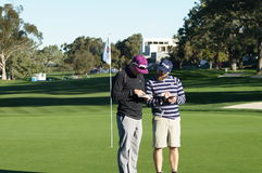 Hunter Mahan 2012 Farmers Insurance Open Stock Image