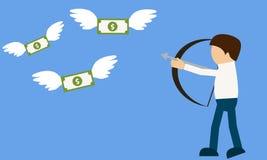 Hunter money Stock Photo