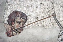 Hunter, mosaic, Istanbul Royalty Free Stock Photo