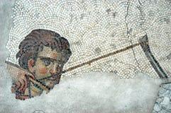 Hunter, mosaic, Istanbul Stock Images