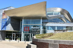 Hunter Museum of American Art in Chattanooga, Tennessee Royalty Free Stock Photos