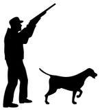 Hunter and Pointer dog Stock Photos
