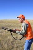 Hunter at Ready stock image