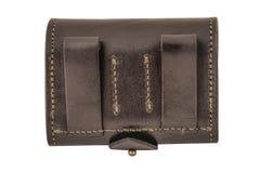 Hunter rifle ammo ammunition belts & bandoliers.  Royalty Free Stock Photography