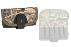 Hunter rifle ammo ammunition belts & bandoliers.  Royalty Free Stock Images